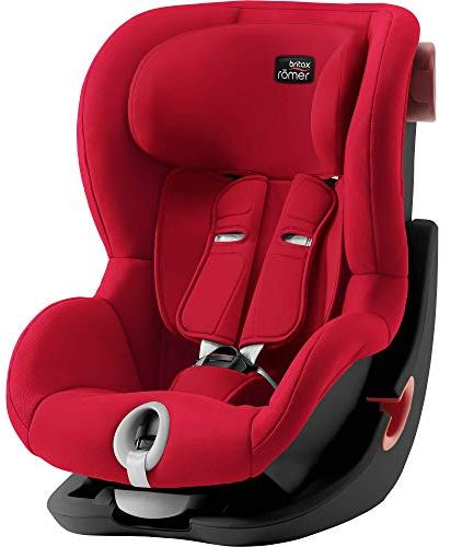 Автокресло Britax Romer King II FIRE RED | BLACK SERIES