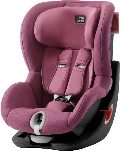 Автокресло Britax Romer King II WINE ROSE | BLACK SERIES
