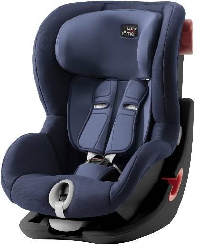 Автокресло Britax Romer King II MOONLIGHT BLUE | BLACK SERIES